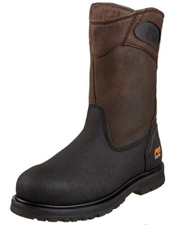 Timberland PRO Men's Powerwelt Wellington Boot _ Industrial & Const