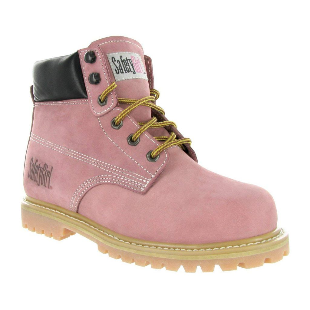 SafetyGirl GS002 Nubuck Leather Steel Toe Water resistant Women's Work Boot