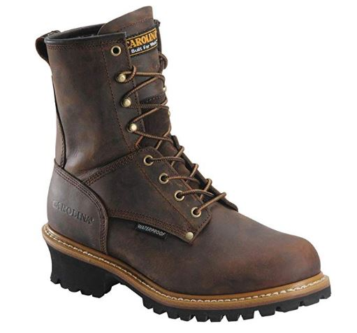 Carolina Boots_ Men's 8 Inch Waterproof Logger Boots CA8821 _ Boots