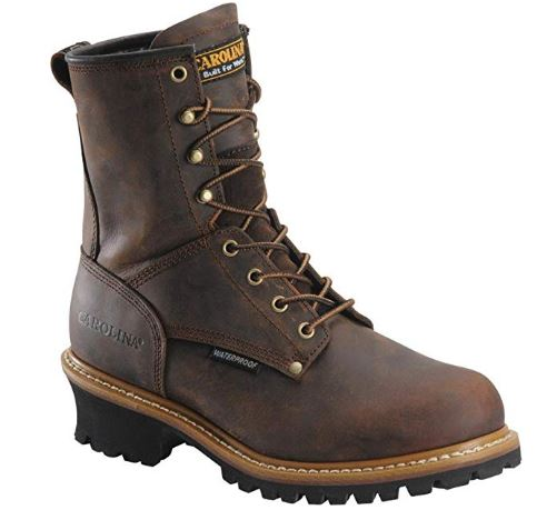 Men's Carolina® 8_ Steel Toe Loggers Boot _ Industrial & Constructi
