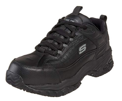 Skechers for Work Men's Soft Stride Steel Toe Work Shoe_ Shoes