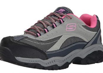 Skechers for Work Women's Doyline Steel Toe Hiker Boot_ Clothing