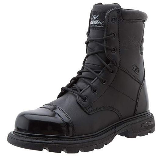 Thorogood Men's 8_ Side Zip Jump Boot Gen-flex,Black,10.5 M US_ Clot