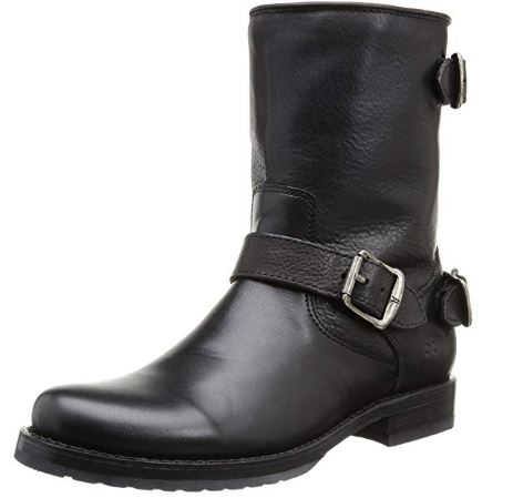 FRYE Company Veronica Back Zip Short Women's Boot _ Ankle & Bootie