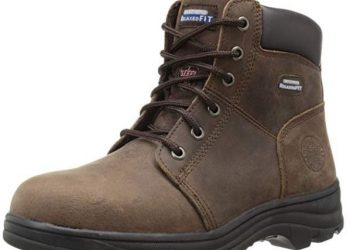 Skechers for Work Women's Workshire Peril Steel Toe Boot_ Clothing