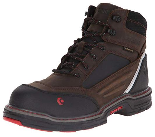 Wolverine Men's Overman Nano Toe 6 inch WPF Contour Welt Work Boot_