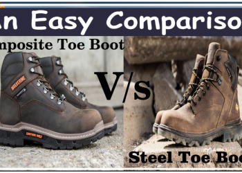 Compsite Vs Steel toe boot