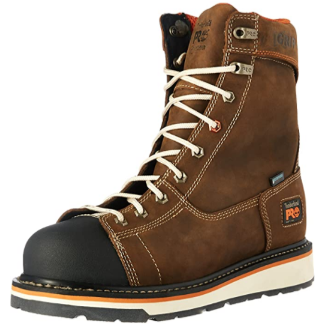 Timberland PRO Men's Gridworks 8 Soft-Toe Waterproof Industrial and Construction Boot