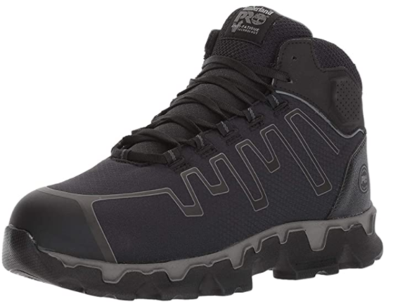 Timberland PRO Men's Powertrain Sport Mid Alloy Toe EH Industrial & Construction Shoe
