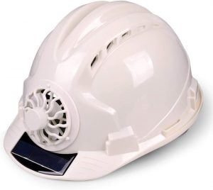 Adjustable Construction Helmet With 'Solar Fan' Vents-Meets ANSI Standards-Personal Protective Equipment, for Construction,Home Improvement And DIY.