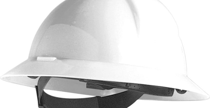 North Hard Hat Full Brim Side Impact