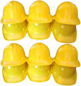 ANapoliz Yellow Construction Hats Toy for kids Dress Up